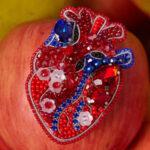 Inimă (rubin / safir)